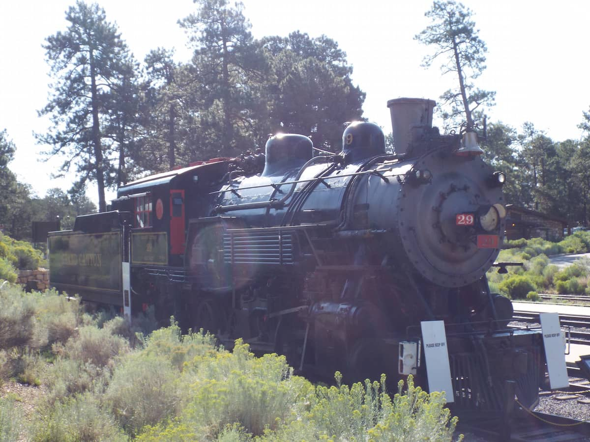 The Grand Canyon Steam engne