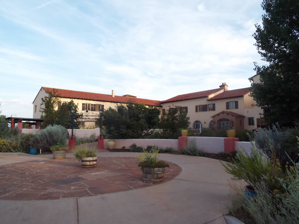 La Posada Harvey House hotel in Winslow Arizona