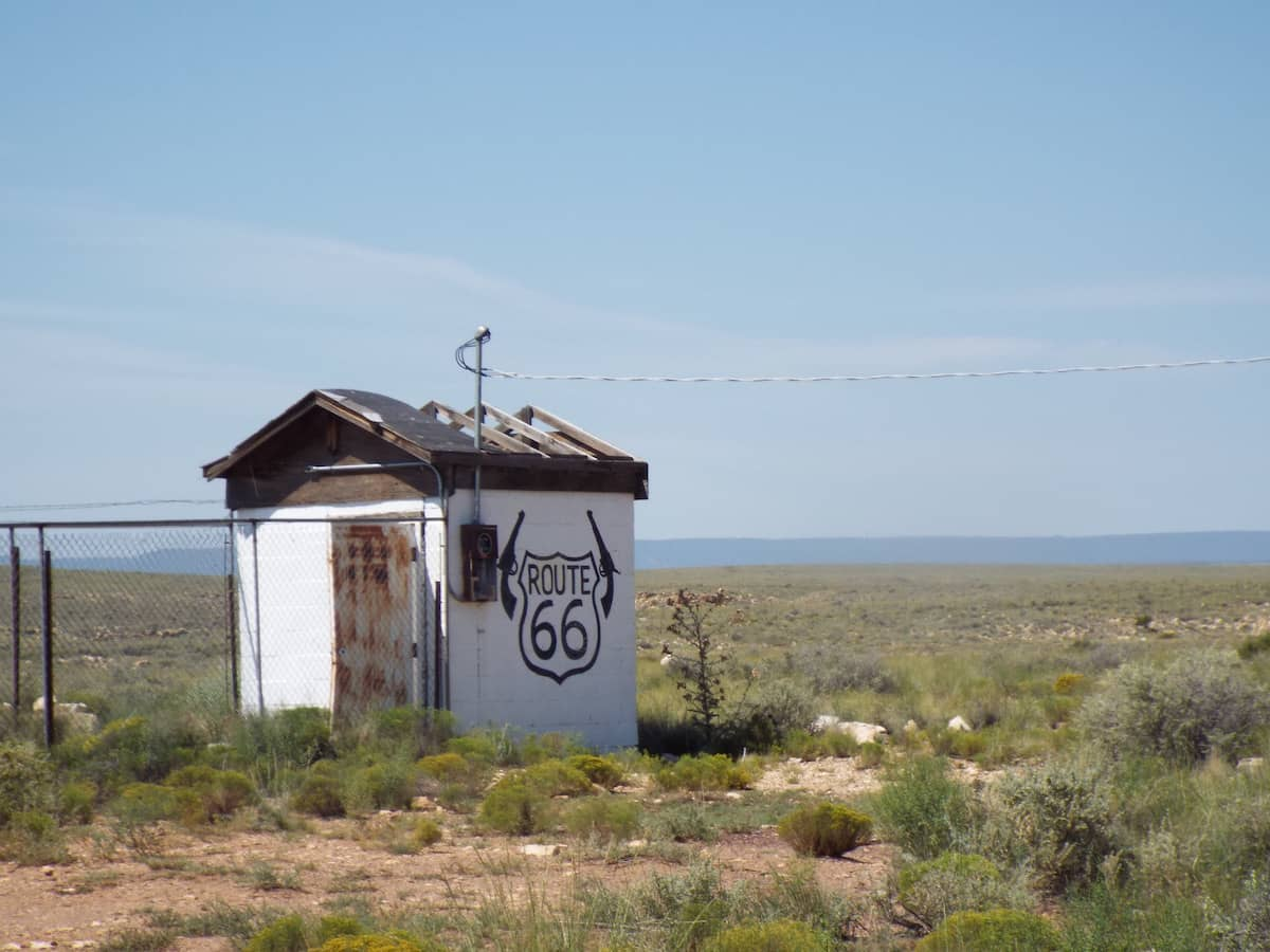 Two Guns Arizona ghost town